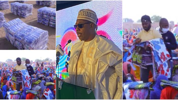 Northern governor supervises distribution of N325m to 100,000 Displaced Persons; social media reacts