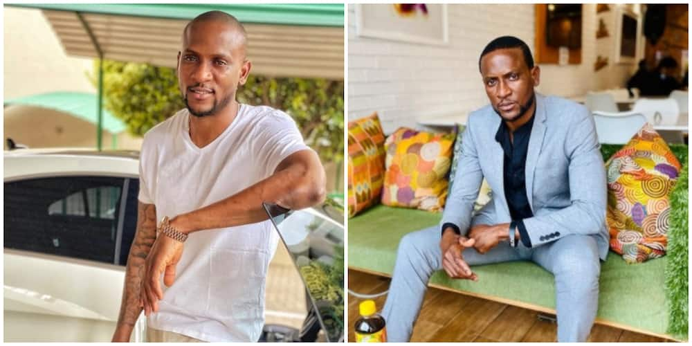 BBNaija star Omashola excited about being on movie cover he featured