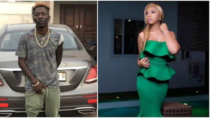 Musician Shatta Wale breaks up with babymama in less than 3 months after public proposal (screenshots)