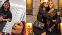 Iyabo Ojo to influence daughter, friend's posting to Lagos, laments at Priscilla's inability to speak Yoruba