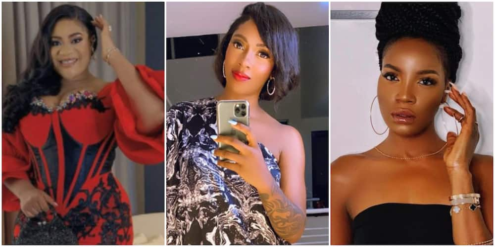 Abuse Me Online and Say Hi Later, I'll Beat You to Stupor: Nkechi Blessing Reacts to Tiwa and Seyi's Clash