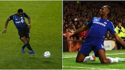 Chelsea legend Drogba erupts in wild celebration after African star rejected by Mourinho did this