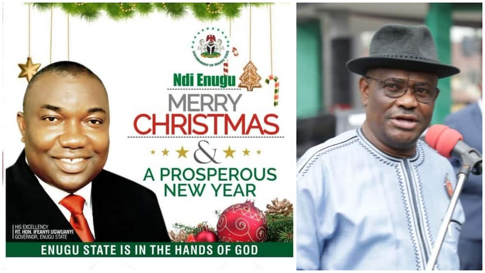 Christmas messages from governors to Nigerians