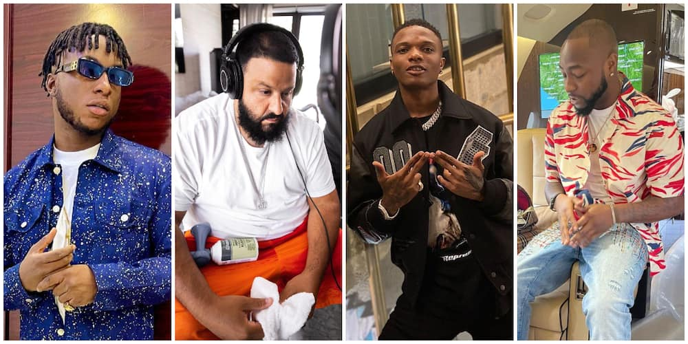 Massive Excitement as DJ Kaywise Announces 3 Different Songs with Davido, Wizkid and DJ Khalid