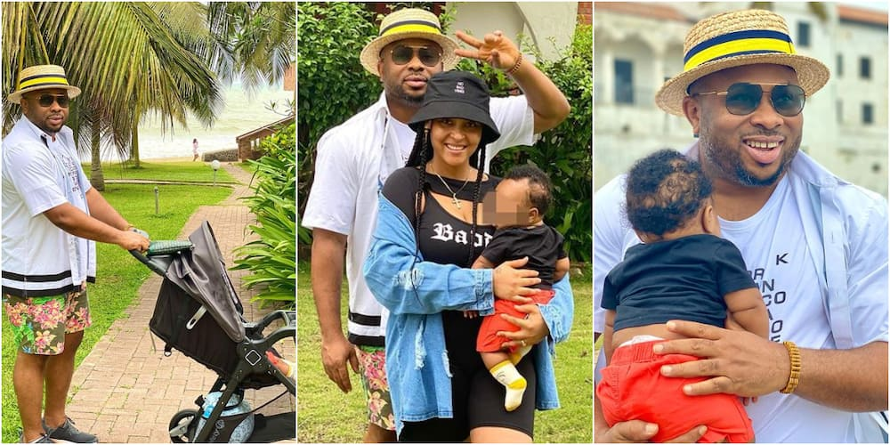 Actress Rosy Meurer and her family