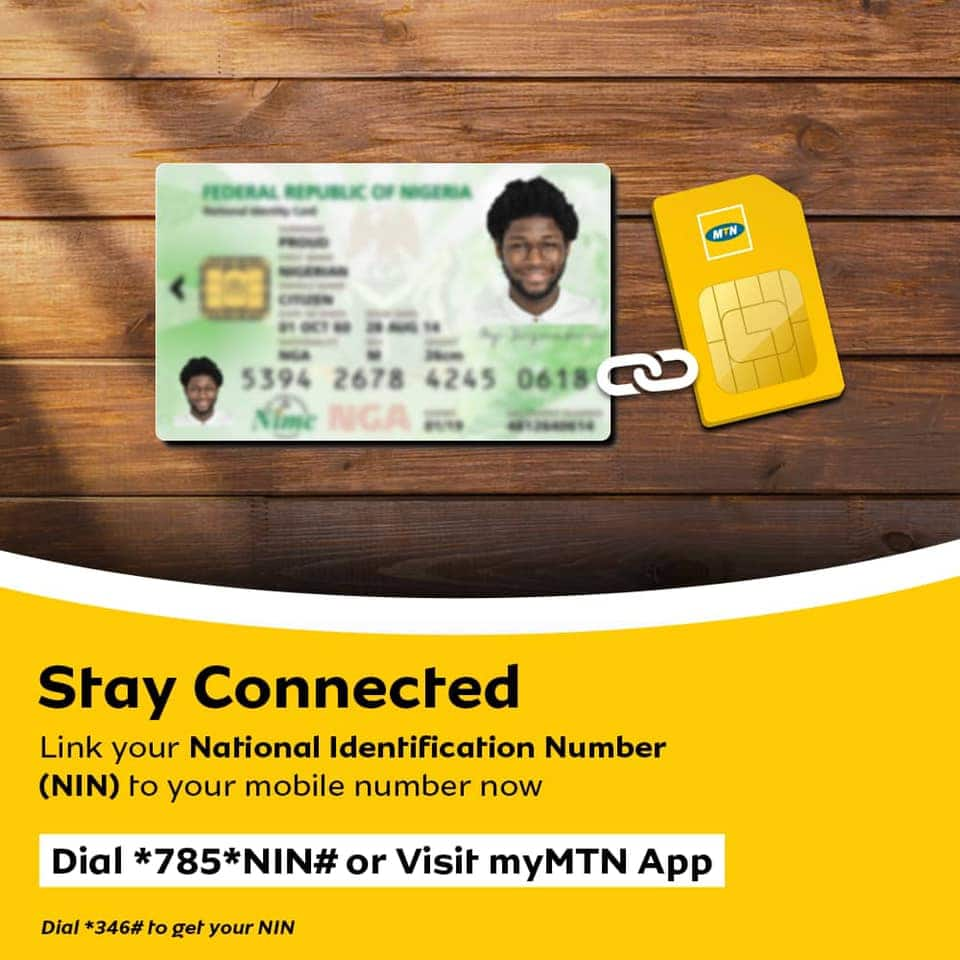How to link NIN to MTN