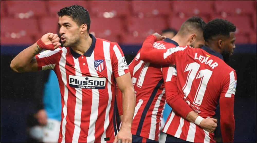 Incredible Luis Suarez breaks Cristiano Ronaldo's record as stunning start at Atletico Madrid continues