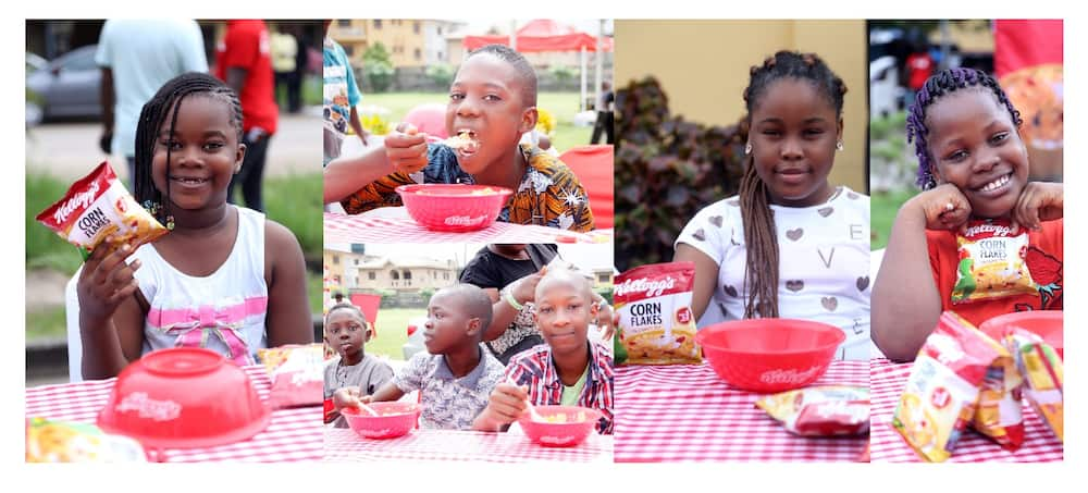 Kellogg's gathers over 1000 families for the Big Family Breakfast Treat