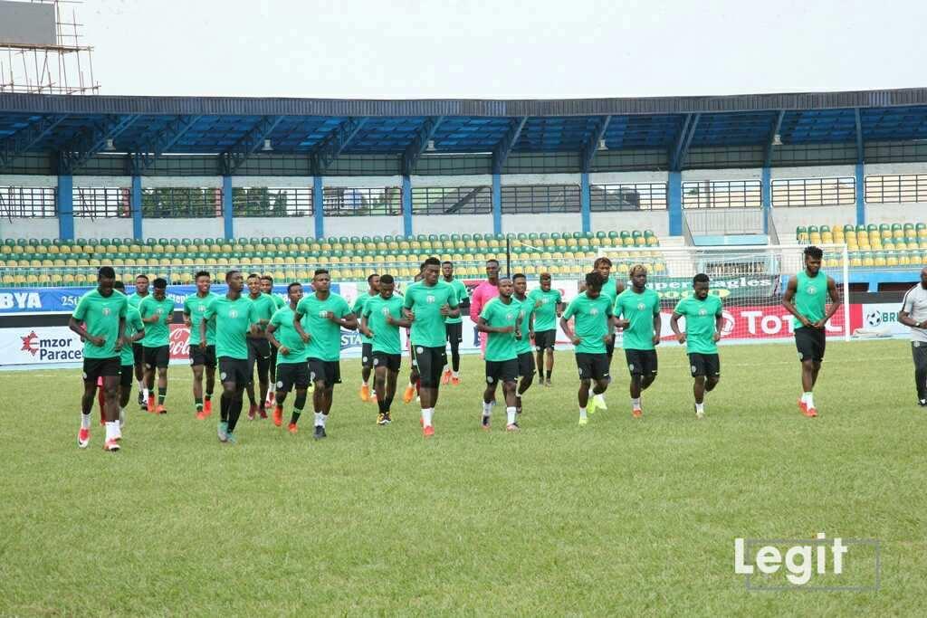 Nigeria vs Libya: Amapakabo's boys battle ready for must-win AFCON 23 showdown ▷ Nigeria news