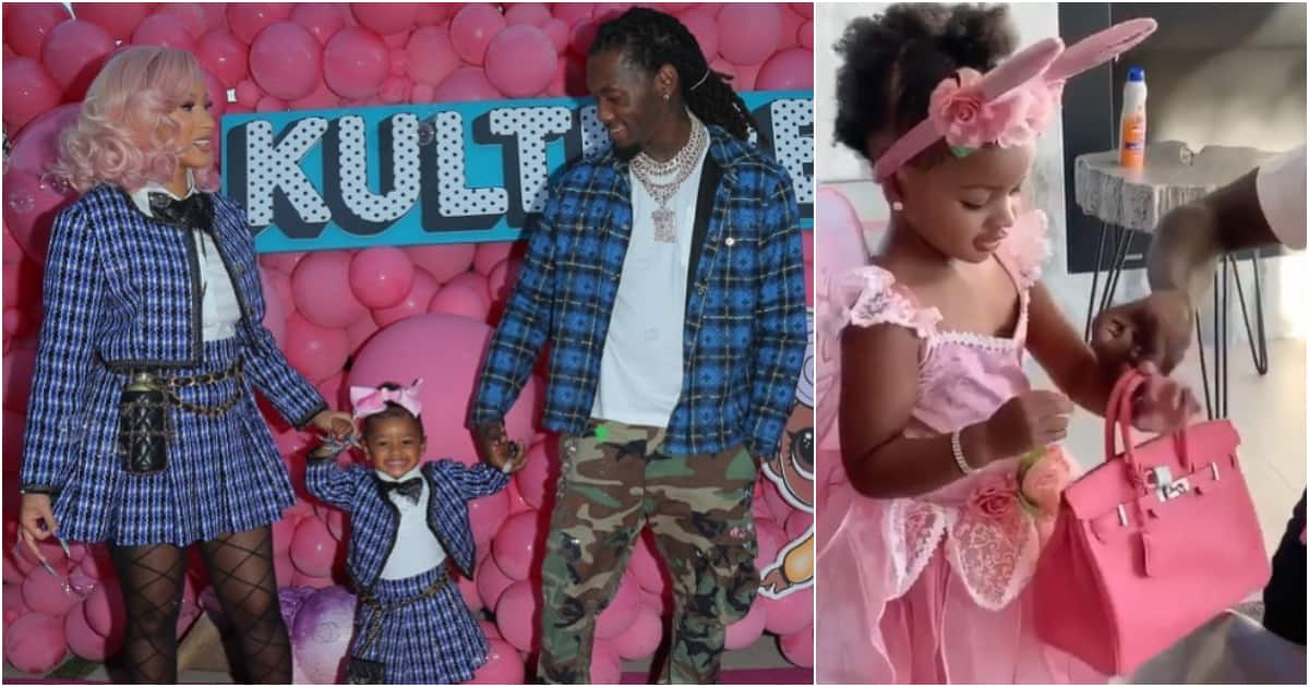 Cardi B Defends N3m Birthday Gift Husband Bought For Daughter Kulture