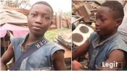 13-year-old Calabar street boy finally gets sponsor for education after Legit.ng discovered him, gets gifts