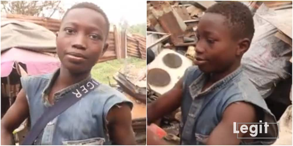 13-year-old Calabar Street Boy Finally Gets Sponsor for Education after Legit Discovered Him; Receives Gifts
