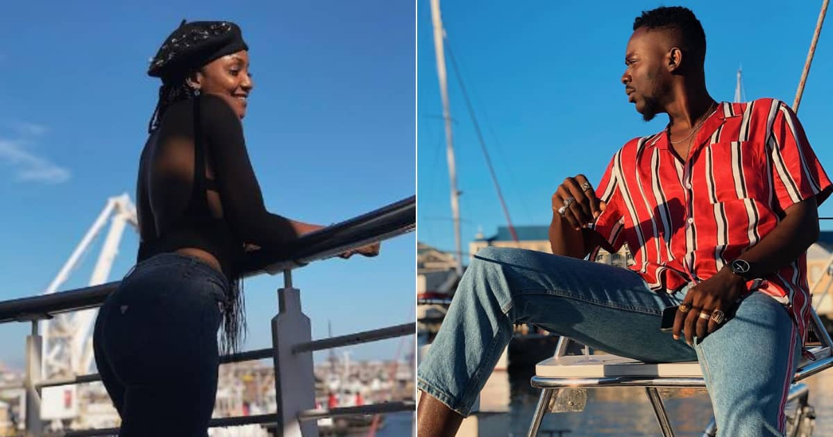 AG is turningoniown: Fans react to video of Adekunle Gold and Simi on ship