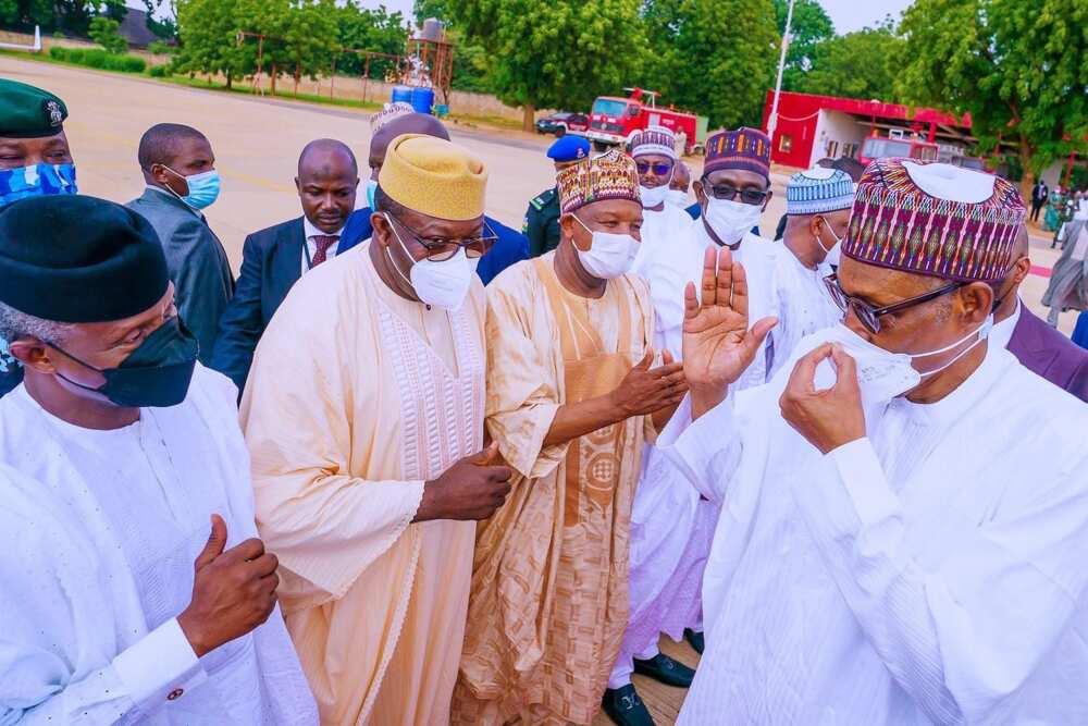 Hotunan daurin auren Talban Daura, Yusuf Buhari, da Gimbiya Zahra Bayero