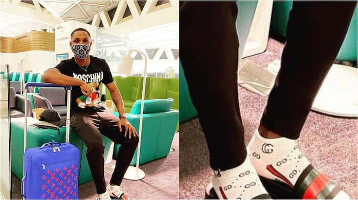 Former Super Eagles and Manchester United Star Odion Ighalo Spotted Wearing  Very Expensive Socks ▷ Nigeria news | Legit.ng