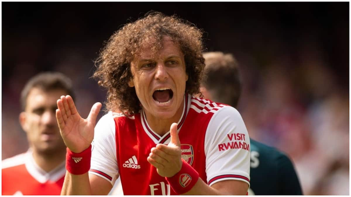 David Luiz claims exchange of words with Frank Lampard led to Arsenal switch