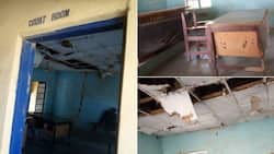Man laments the degenerating state of a magistrate court in Eastern Nigeria (photos)