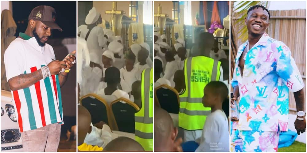 E Choke: Reactions As MC in Celestial Church 'Gingers' Kids With Davido's Viral Catchphrase