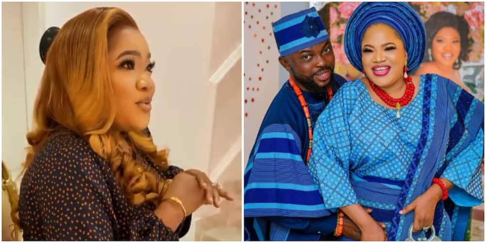 Actor Kolawole Ajeyemi says his wife Toyin Abraham is a wise woman