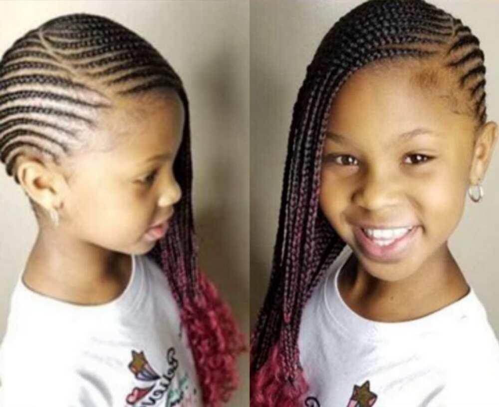 cornrows for little girl