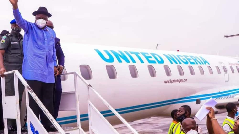 Bayelsans Excited As First Commercial Flight Touches Down at New State-Owned Airport