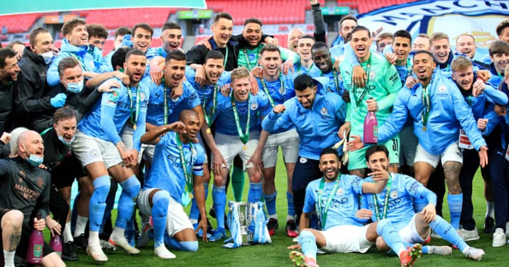 Man City Crowned 2020/21 EFL Champions After Win Over Tottenham