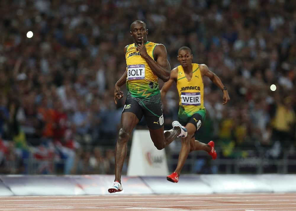 Usain Bolts names football star who is certain to beat him at a sprint