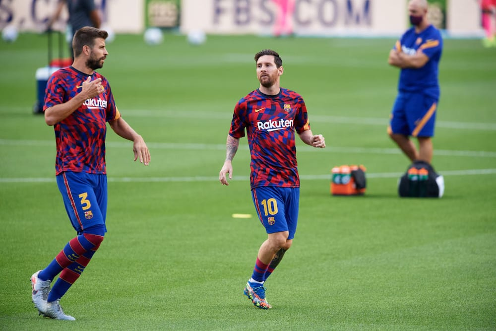Pique hopes Messi is convinced and that he will be with Barcelona again soon