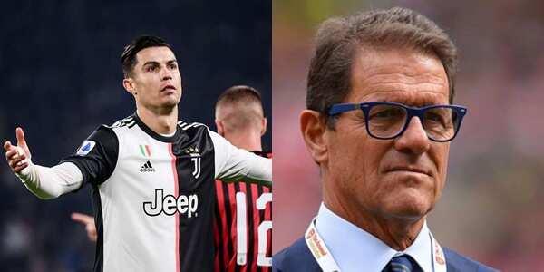 Image result for images of Fabio Capello slams Cristiano Ronaldo