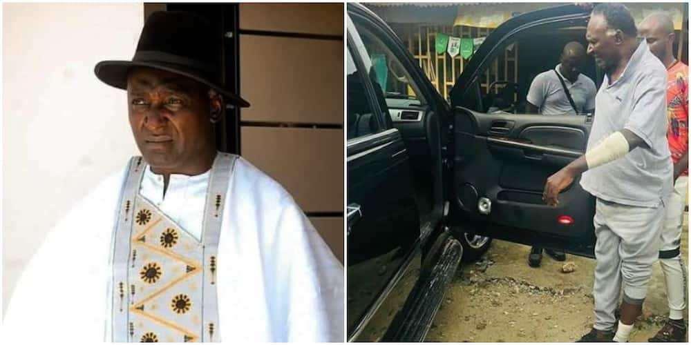 Veteran actor Clem Ohameze attacked by hoodlums in Uyo (photos)