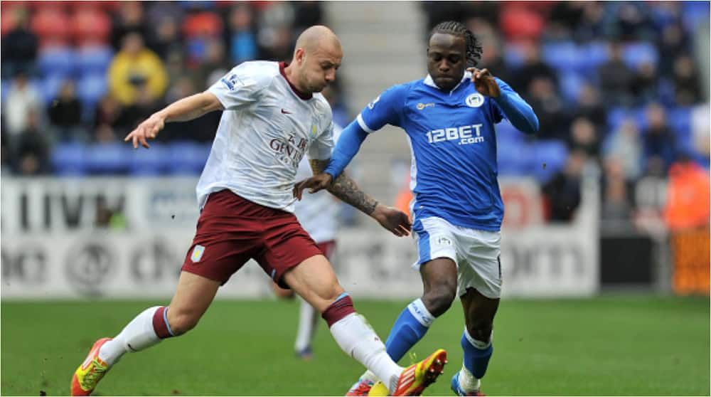 Victor Moses donates whopping £20,000 to struggling former side Wigan Athletic.