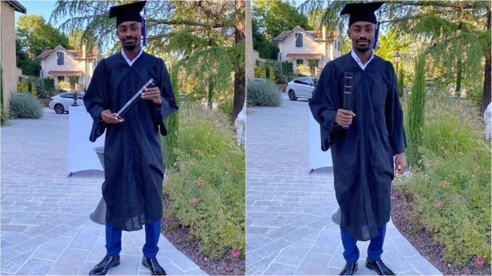 Salomon Kalou: Former Chelsea star bags University degree in business administration