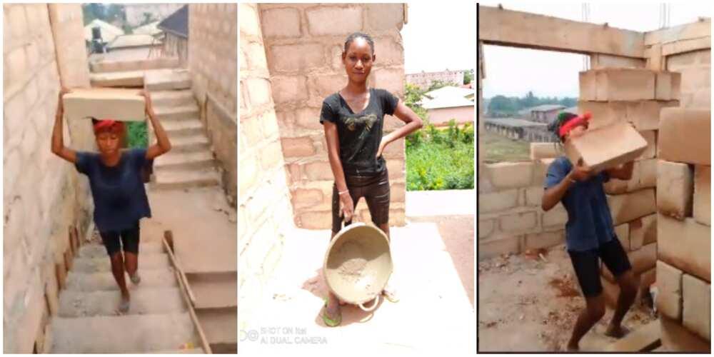 Une jeune étudiante nigériane montre son agitation en tant que travailleuse, les photos deviennent virales, les médias sociaux réagissent