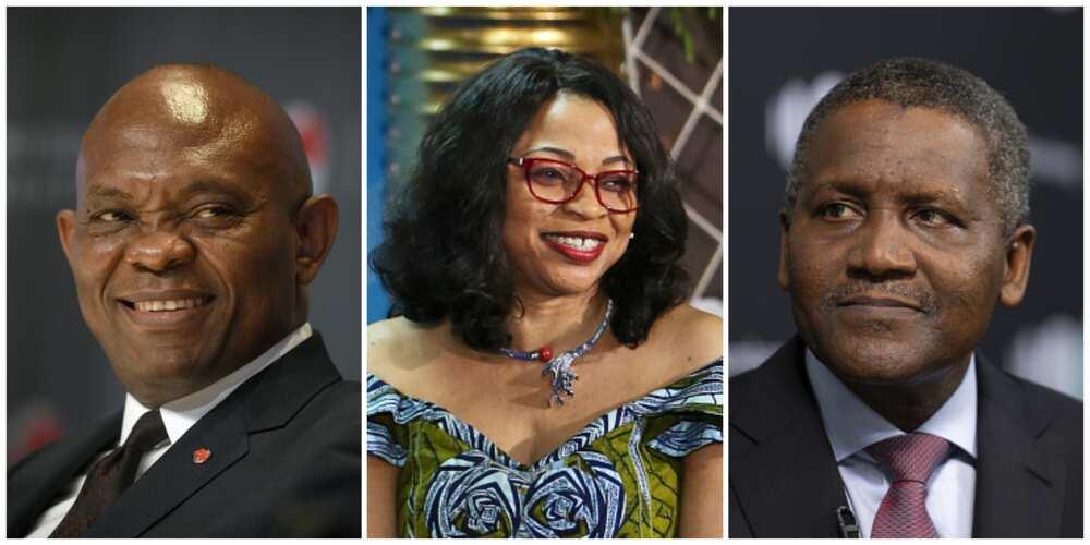 Dangote da Alakija sun shiga jerin ƴan Nigeria da suka fi kyauta a 2021