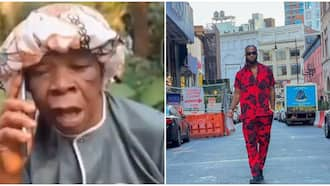 Don't rush life; 81-year-old kerosene seller says after she was gifted N1m by singer Flavour, gushes in video