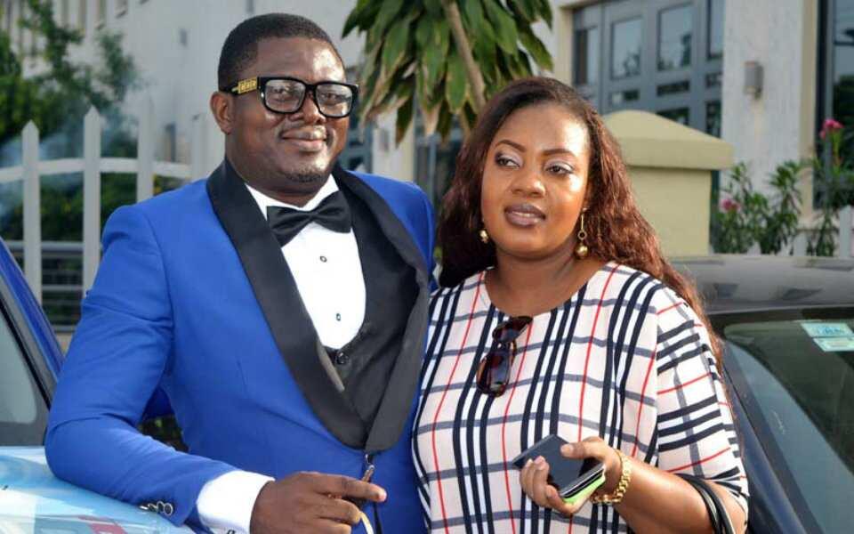 Muyiwa Ademola and wife