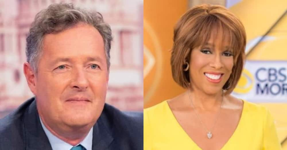 Piers Morgan Makes Accusations About Gayle King in Mini Online Rant