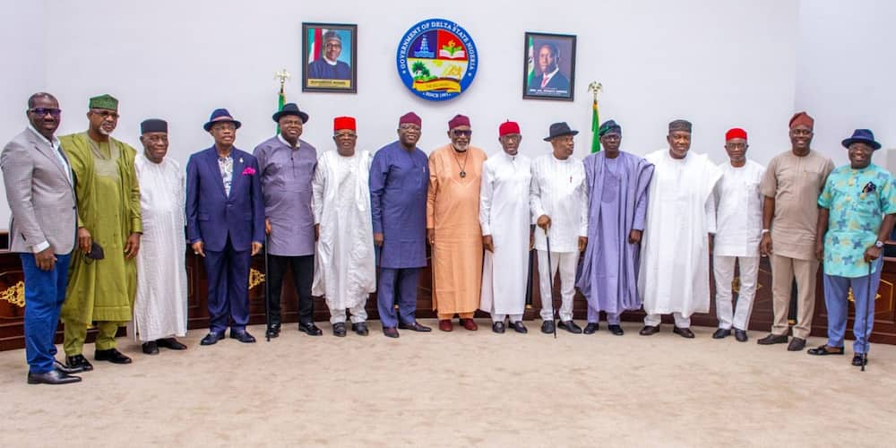 Nigeria's president in 2023 should come from the southern region according to governors