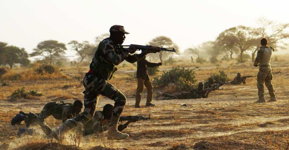 Sojojin Najeriya Sun Ragargaji Boko Haram Da Bama-Bamai a Borno