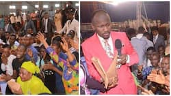 Popular Nigerian pastor gives out the sum of N6.5million to unemployed church members (photos)
