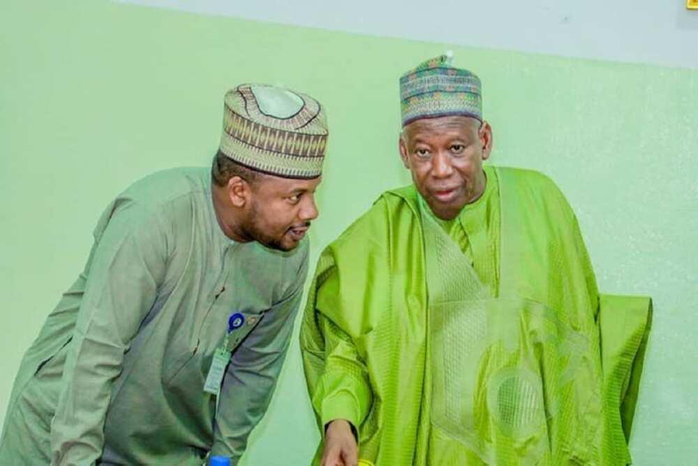 Yanzu-yanzu: Ganduje ya dakatar da kakakinsa, Salihu Tanko, saboda sukar Buhari