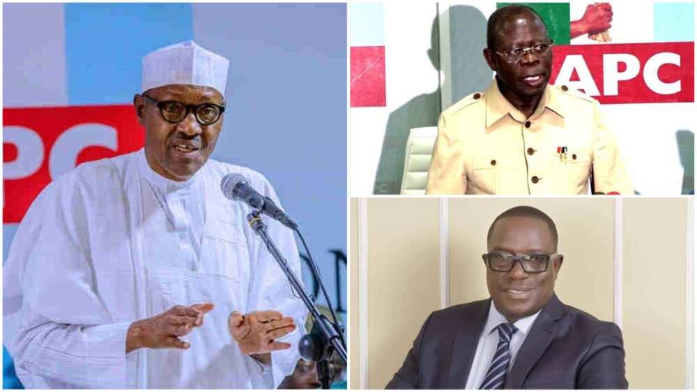 APC crisis: Reactions as Buhari snubs Oshiomhole, backs Giadom as acting chairman