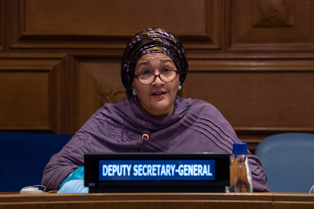 UN Deputy Secretary-General Amina Mohammed sends message to young Nigerians