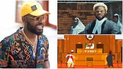 Boda Muri shout finish we no see am for court - Falz addresses Nigeria's ills in new music video, Talk