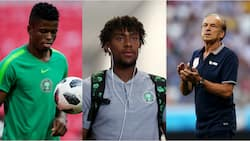 Revealed: Here are the 3 midfielders Gernot Rohr plans to unleash in his starting XI against Algeria