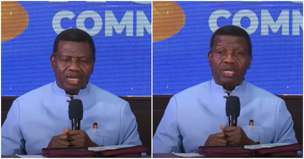 Just In: Pastor Adeboye Makes First Public Appearance After son's Death, Photos Emerge