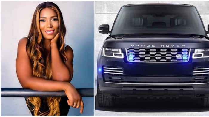 Linda Ikeji buys 2020 Range Rover Autobiography worth about N50m to celebrate 40th birthday (photo)