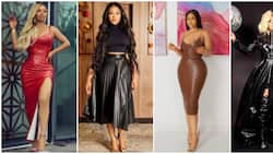 Latex leather fashion: 14 celebrities show off their daring sides in trending style
