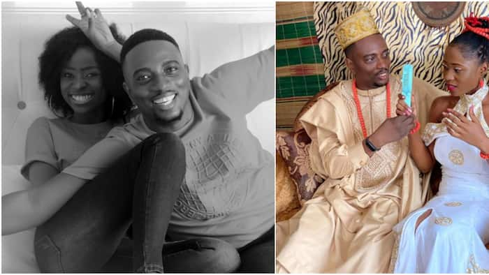 So sweet: Massive reactions as Nigerian man finds love, weds girlfriend of 9 months, shares adorable photos