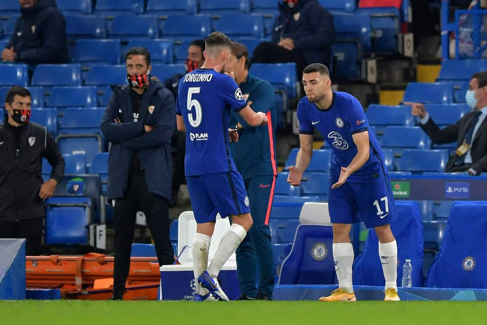 Jorginho doubtful for Chelsea's Premier League trip to Manchester United this weekend